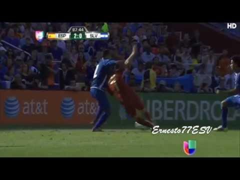El Salvador 0-2 España - Road to Brazil