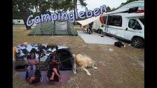 Campingleben im Urlaub I CHM I Frankreich
