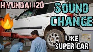 Hyundai car sound change like super car......#MODIFICATION CHANNEL