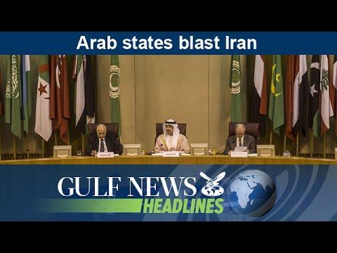 Arab states blast Iran - GN Headlines