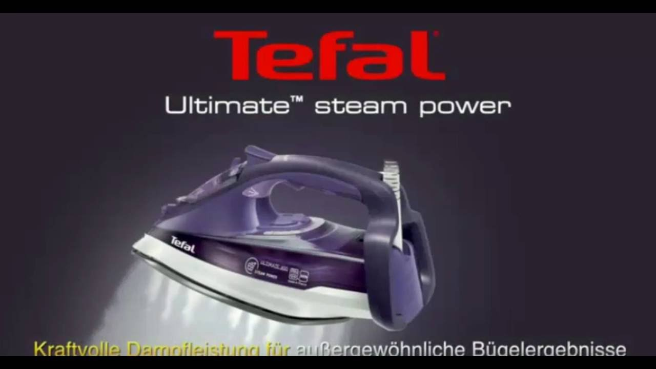 Tefal FV9640 Ultimate Dampfbügeleisen Antikalk Kollektor Test