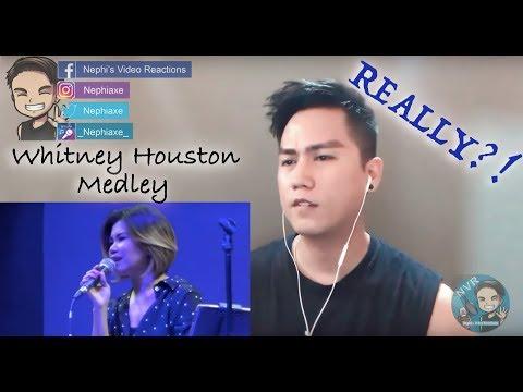 KATRINA VELARDE - Whitney Houston Medley MusicHall Metrowalk | REACTION