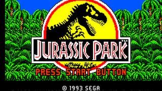 Master System Longplay [160] Jurassic Park