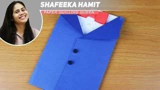 DIY Suit-Tuxedo Greeting Cards Tutorial - How To Make Greetings Father's day Cards - Paper Cards