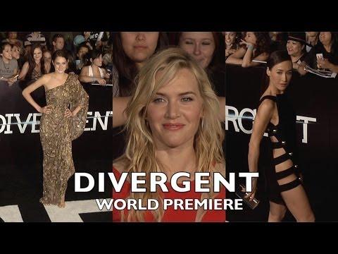 Shailene Woodley, Theo James, Ashley Judd, Kate Winslet, Maggie Q DIVERGENT World Premiere