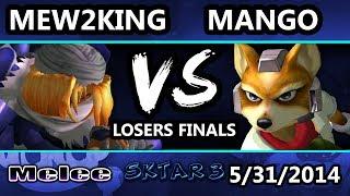 SKTAR 3 - Mew2King (Sheik, Marth) Vs. Mango (Fox, Falco) - Losers Finals
