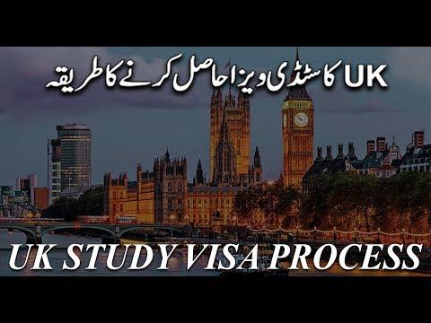UK STUDY VISA PROCESS