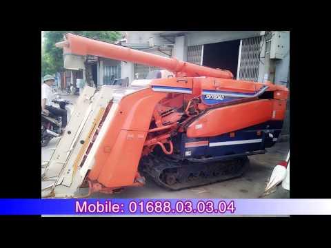 Giá máy gặt đập liên hợp máy cày Nhật Bản Kubota Yanmar Iseki tốt nhất rẻ nhất Miền Bắc - Miền Trung
