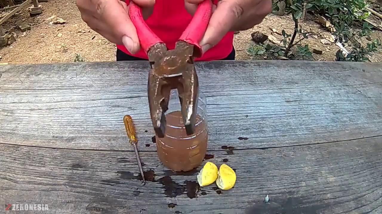 Cara Alami Menghilangkan Karat pada Peralatan - Cara ...