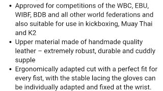 BREAKING NEWS! WBC & Paffen Gloves created Tyson Fury Gloves & WBC inside Gloves