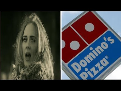 ADELE ORDERING DOMINO'S - Prank Call