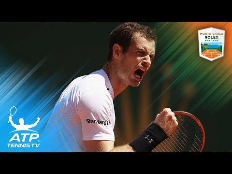 Andy Murray's top 5 shots in Gilles Muller win | Monte-Carlo Rolex Masters 2017 Day 4