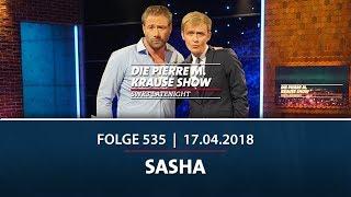 Die Pierre M. Krause Show vom 17.04.2018 mit Sasha