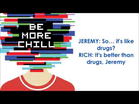 The Squip Song - BE MORE CHILL (LYRICS)