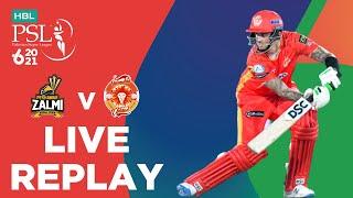 LIVE REPLAY – Islamabad United vs Peshawar Zalmi | Match 10 | HBL PSL 6