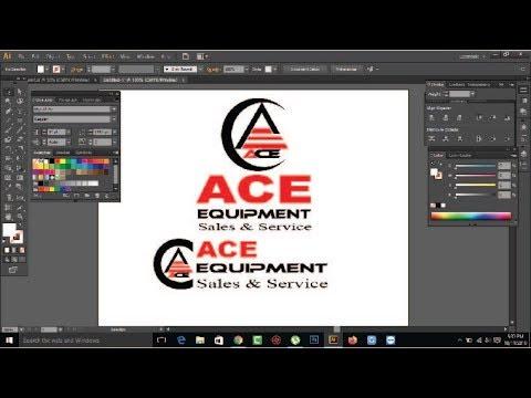 Logo Design Basic | Logo Design Tutorial |  | Create Logo by Illustrator thumbnail