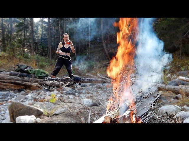 Sleeping on Hot Coals, Bushcraft with Susanne Williams