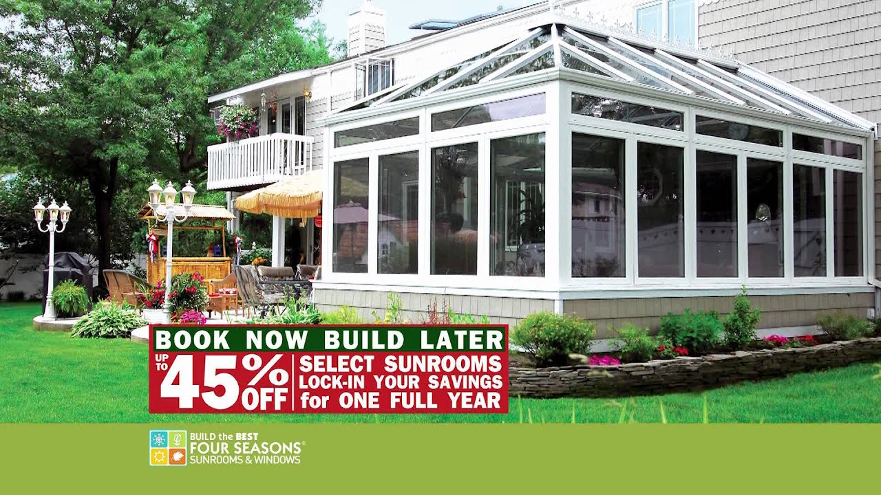 Lovely Four Seasons Sunrooms U0026 Windows   January 2012 Promotion   TV Commercial    YouTube