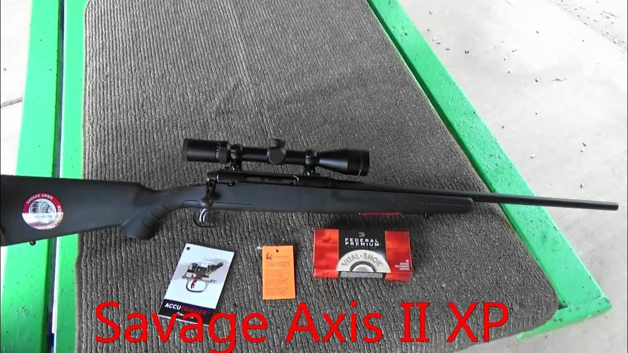 savage axis ii xp youtube