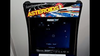 asteroids arcade1up video, asteroids arcade1up clips