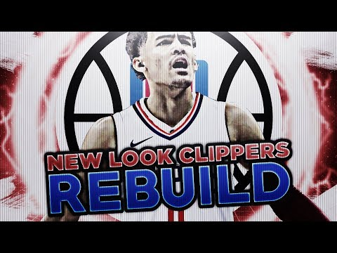 POST LOB CITY ERA!! CLIPPERS REBUILD!! NBA 2K18