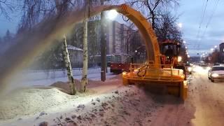Очередной снегоочиститель запущен в г.Томск