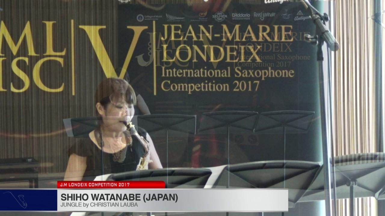 Londeix 2017 - Shiho Watanabe (Japan) - Jungle by Christian Lauba