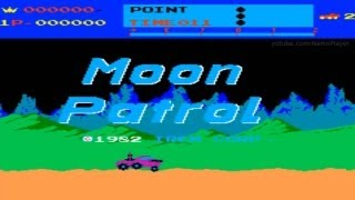 Moon Patrol 1982 Irem Mame Retro Arcade Games