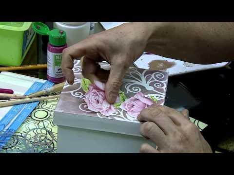 Mulher.com 03/07/2015 Mega Artesanal - Davi jansen - Dicas e técnicas pintura em madeira