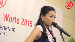 Miss Malaysia World 2015 - Press Conference on 22.Aug.2015