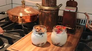 Lemon Yogurt Parfait and Stuffed Dates   SD 480p