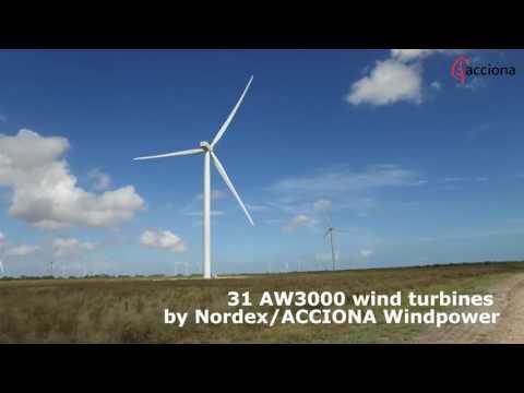 ACCIONA Energia starts up San Roman Wind Farm in Texas