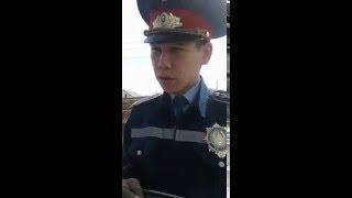 Кульсары. Сотрудник полиции который бес предела пользуется своим служебным положением.