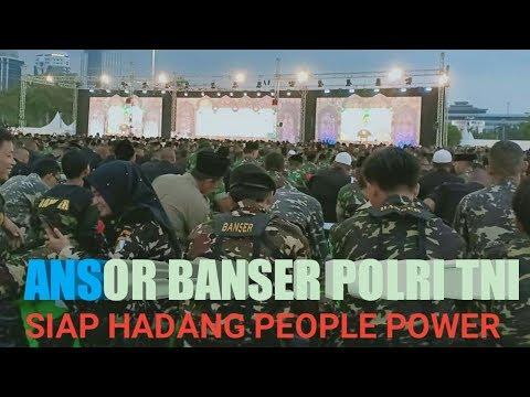 GP Ansor dan Banser Siap Hadang People Power