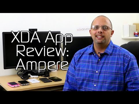 Ampere Measures Phone Power – XDA App Review