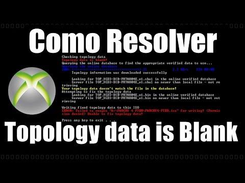 COMO RESOLVER ERRO ABGX360 Topologia data is blank