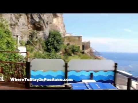 Eden Roc Hotel Positano, Italy - Pool, Lobby and Room Tour!