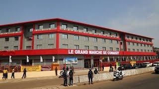 www.guineesud.com - RTG du 10 décembre 2016 - Conakry : marché moderne inauguré par le PRAC