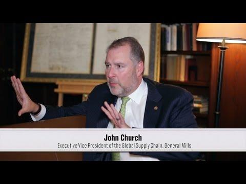 John Church, Executive Vice President, Supply Chain, General Mills