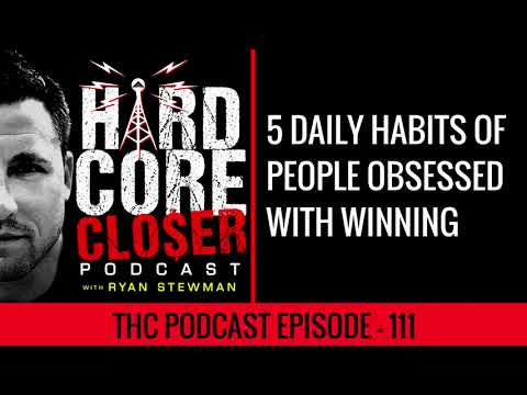 5 Daily Habits Of People Obsessed With Winning