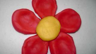 How to make a play-doh flower - EP - simplekidscrafts