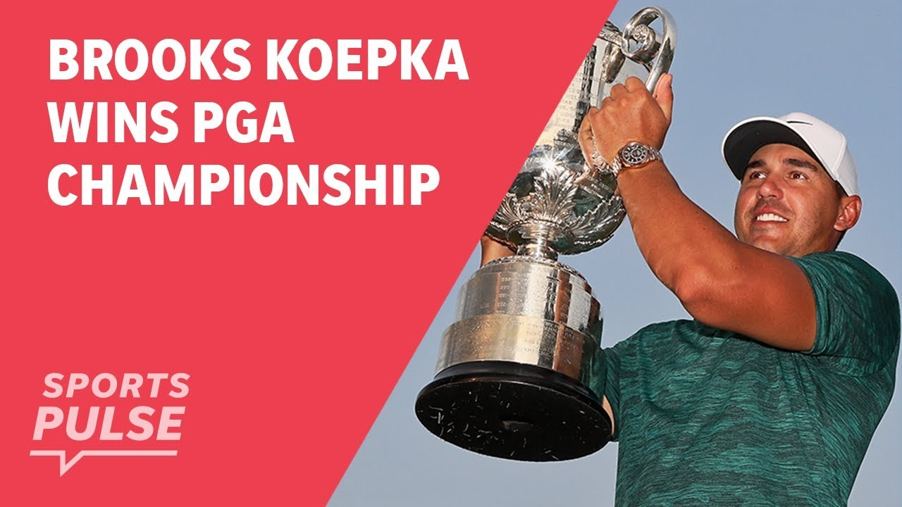 Brooks Koepka wins PGA Championship while Tiger Woods steals the attention