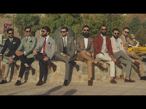 Kurdish dandies launch Iraqi gentlemen's fashion club