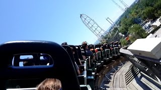 Mean Streak Back Seat POV 2015 FULL HD Cedar Point