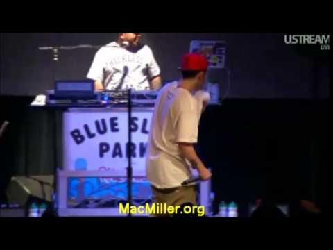 Mac Miller Get Emotional On Stage