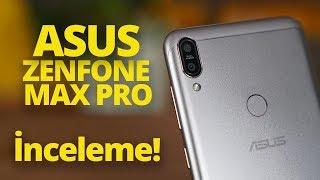 Asus Zenfone Max Pro inceleme - Telefonlu bataryayı inceledik!