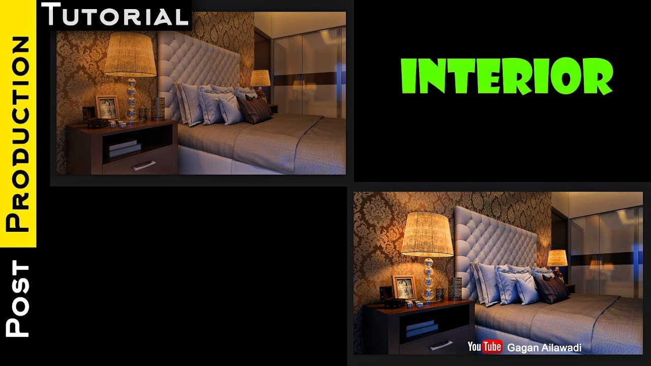 Interior post production tutorial in photoshop architectural interior post production tutorial in photoshop architectural visualization baditri Images