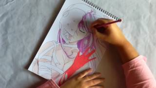 Speed Drawing - Lucy (Elfen Lied)