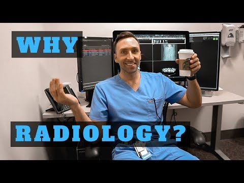 WHY I CHOSE RADIOLOGY (Residency) - 10 Reasons !!