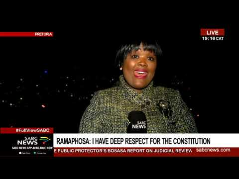 Political reaction to Pres. Ramaphosa's decision to review Mkhwebane's report